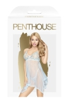 Nuisette Naughty doll bleue - Penthouse