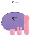 Mini vibromasseur Mister Bunny rose - Feelztoys